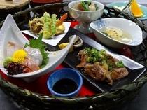 【夕食17:00~20:30】人気№1☆近江牛ミニステーキ付♪花鳥風月~