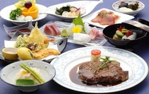 【ご夕食17:00~20:30】近江牛ステーキ和洋会席