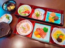 【選べる5種類のご夕食】旬彩二段重