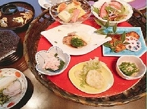 【選べる5種類のご夕食】月の籠膳