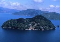 ≪観光≫琵琶湖に浮かぶ小島【竹生島】(ホテルよりお車で港まで5分 シャトルバスあり)