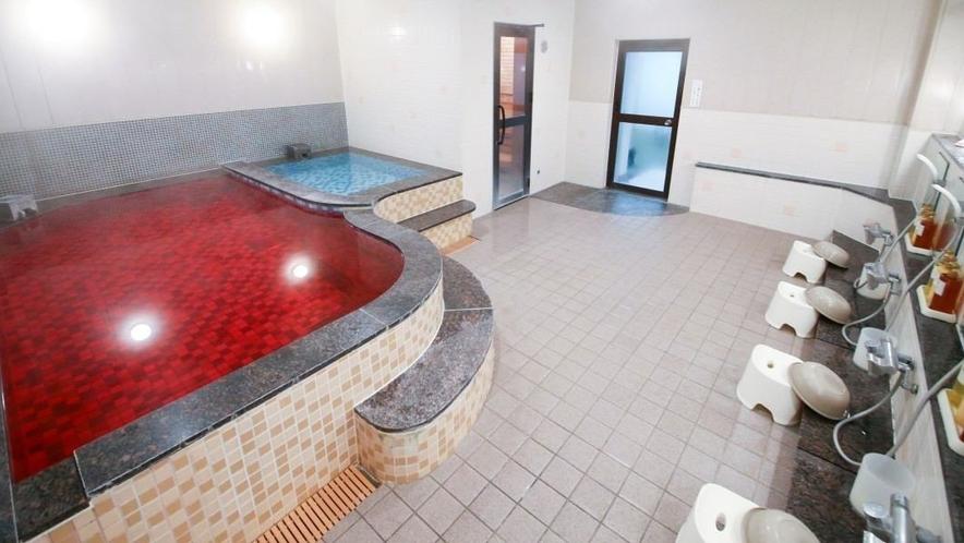 サウナ付男性浴場