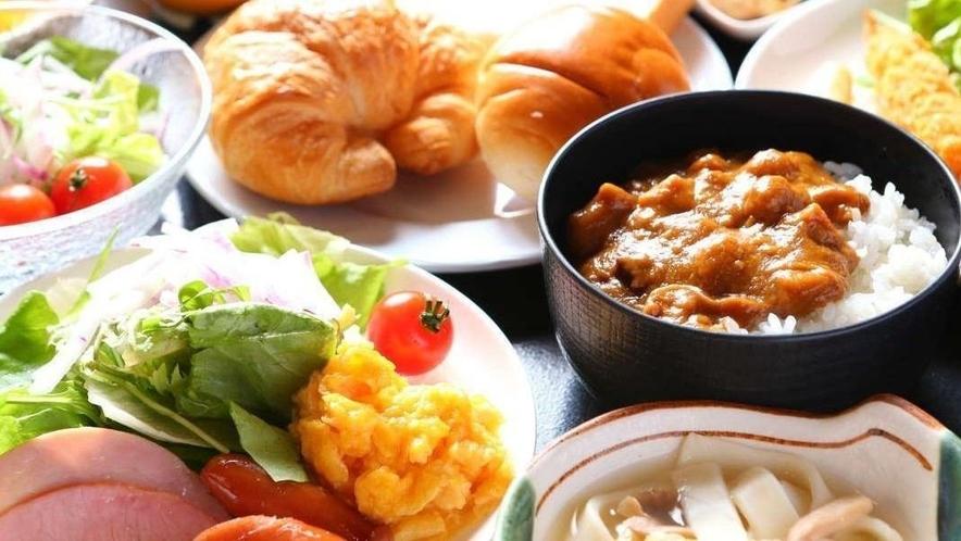 健康に配慮した食材で、 しっかりとボリュームある朝食をご用意しました。