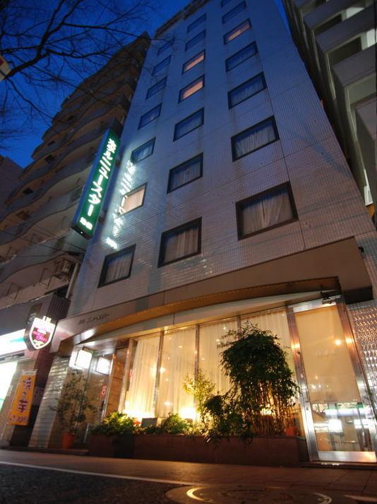 ホテル外観_夜